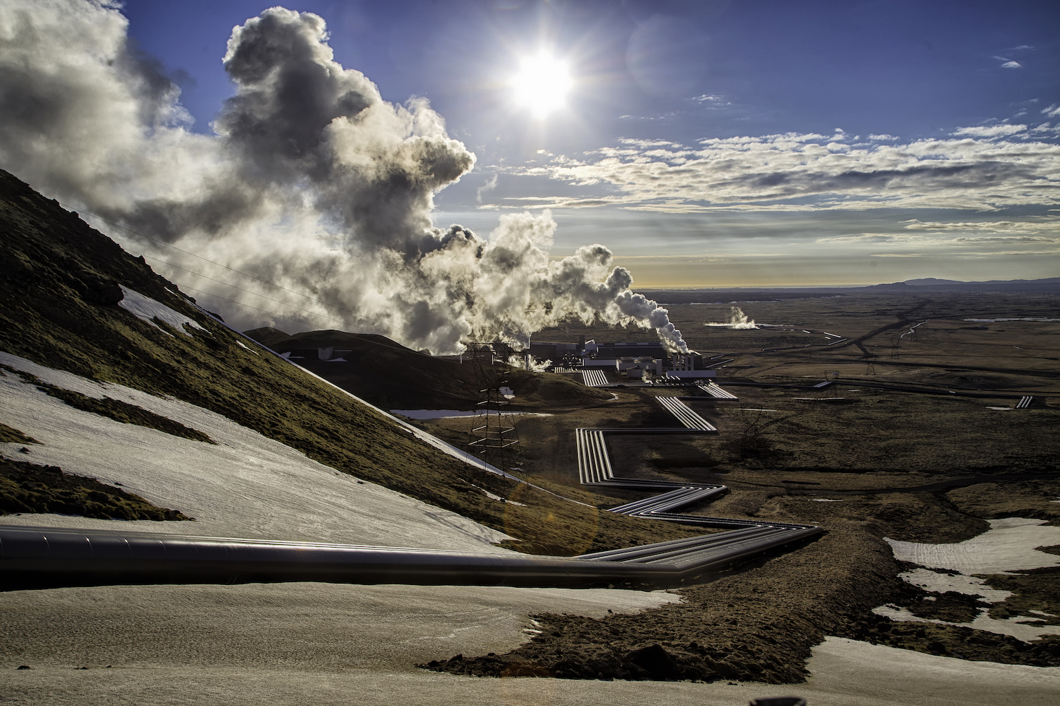 Scientists in Iceland are not just trapping carbon dioxide (CO2) and storing it underground - they have developed a way to solidify the gas and turn it into rocks so that the CO2 will not reach the atmosphere for millions of years.