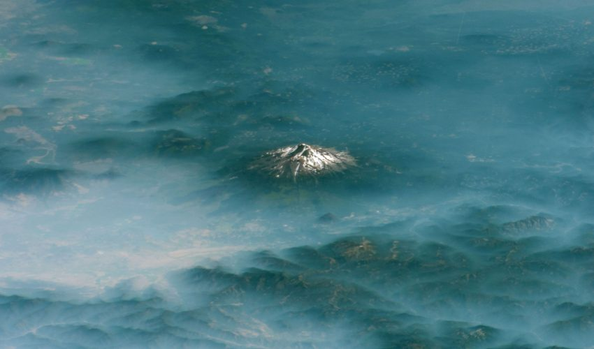 Today's Image of the Day comes from the NASA Earth Observatory and features a look at Mount Shasta in northern California.