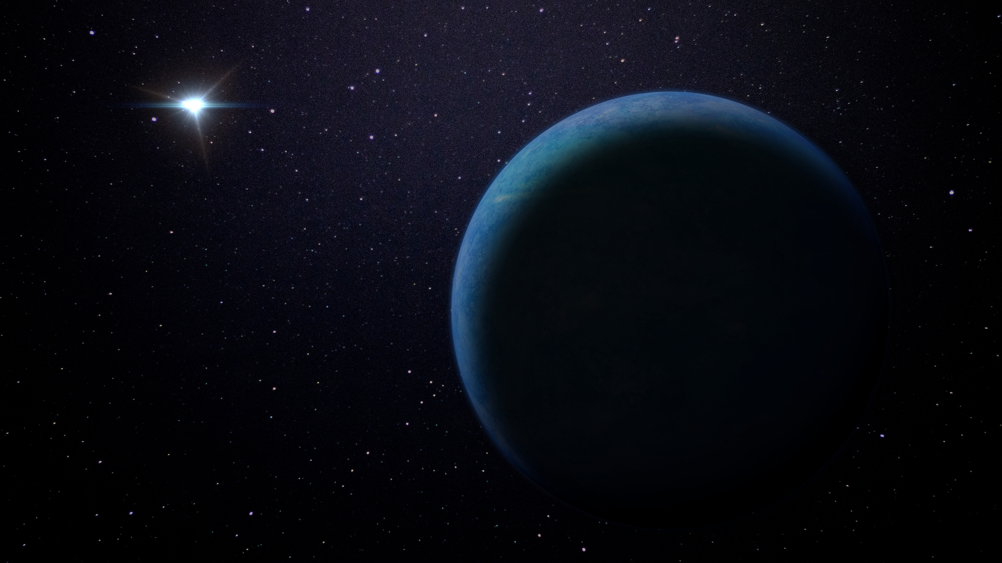 Astronomers suspect that there is a giant planet in our solar system that is 20 times farther from the Sun than Neptune and has ten times the planetary mass of the Earth