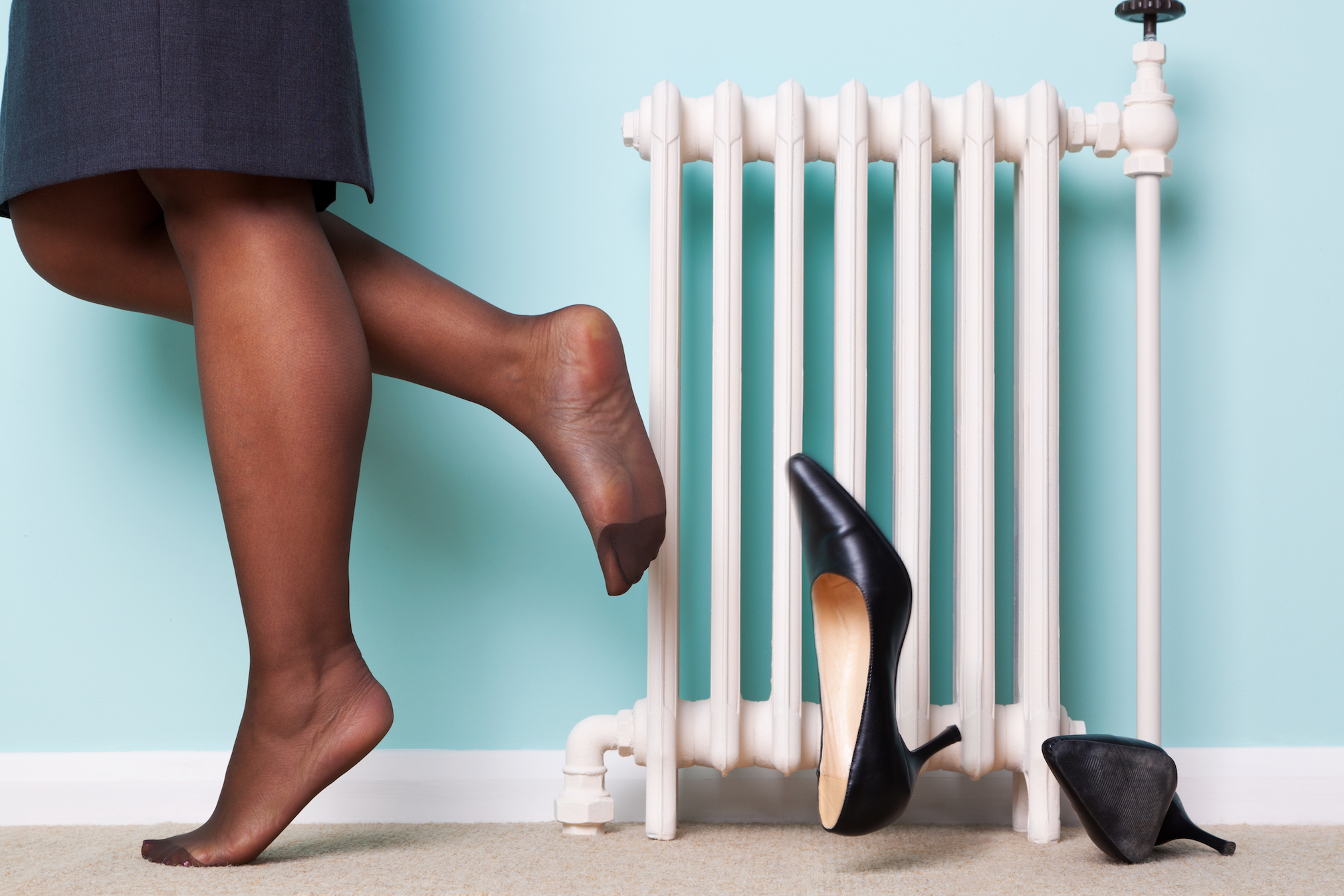 A recent study reveals how using less plastic, getting rid of your carpet, and even taking off your shoes as soon as you get home can help reduce weight gain associated with obesogens.