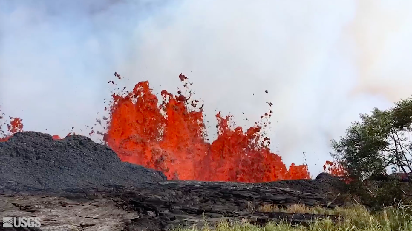 Today's Video of the Day comes from the U.S. Geological Survey (USGS) and features a look at lava fountaining at Fissure 20 of the Kilauea volcano eruption.