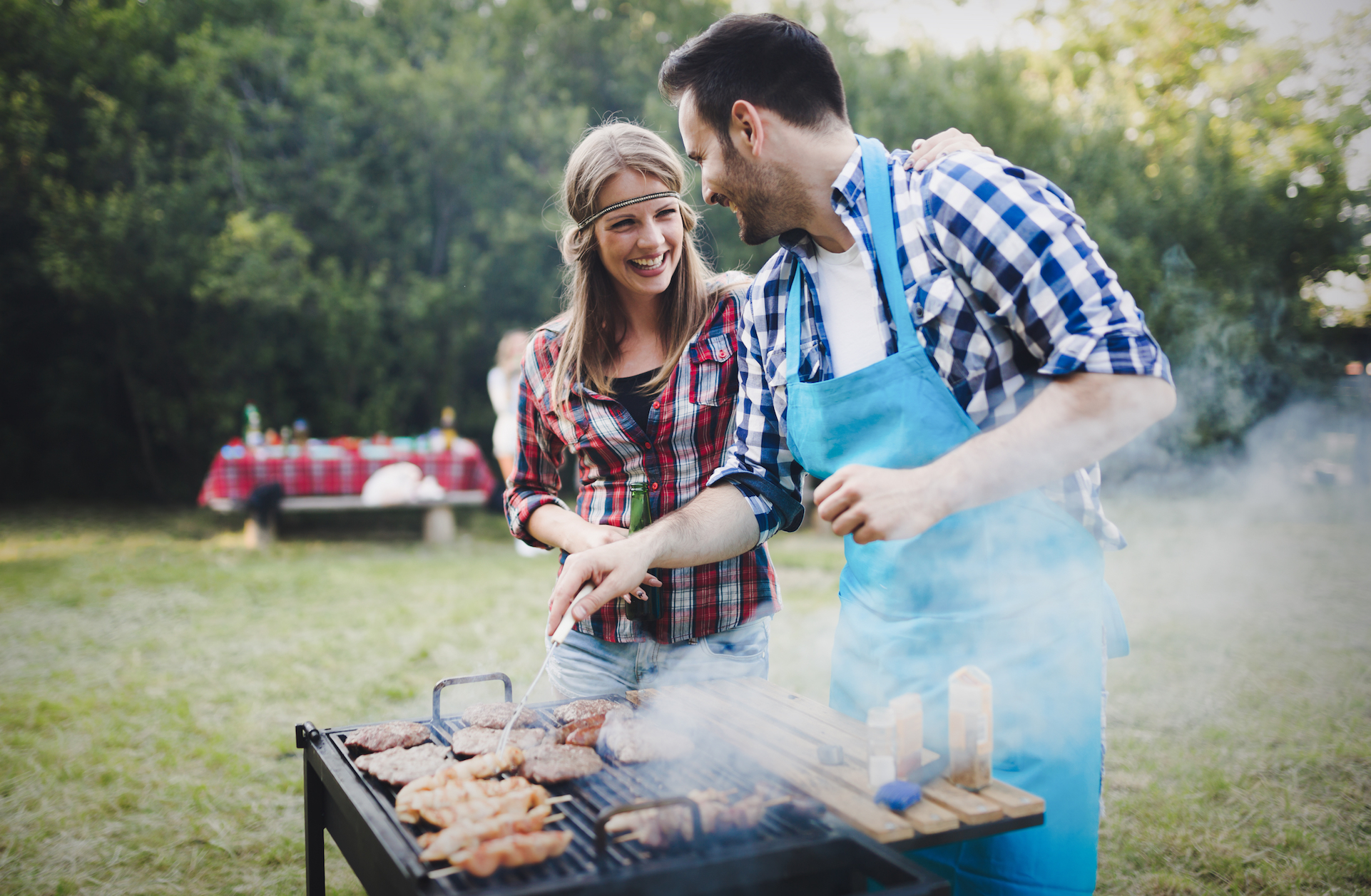 As the official start of grilling season approaches, new research suggests that changing clothes after a cookout may help prevent exposure to harmful carcinogens produced in barbecue smoke.
