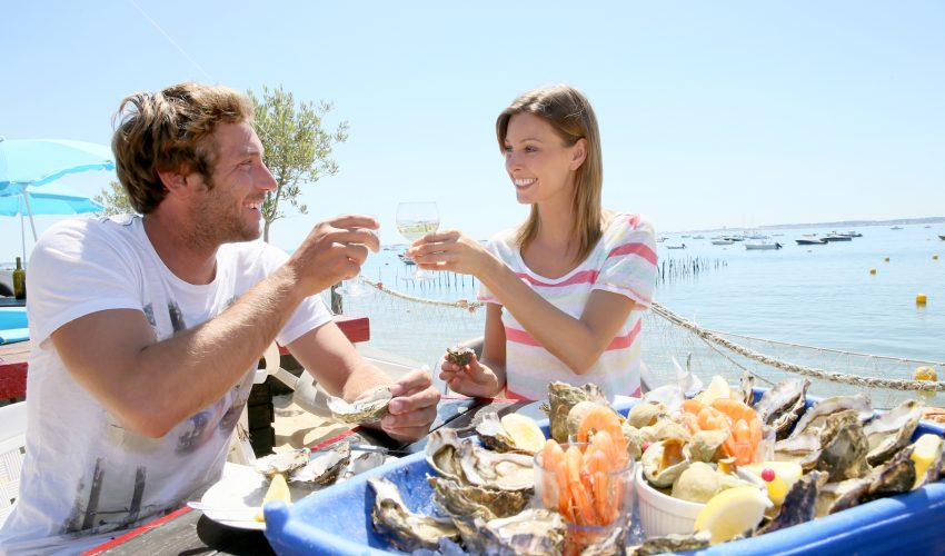 Researchers have found that couples who eat at least two servings of seafood each week are more sexually active and succeed in getting pregnant faster