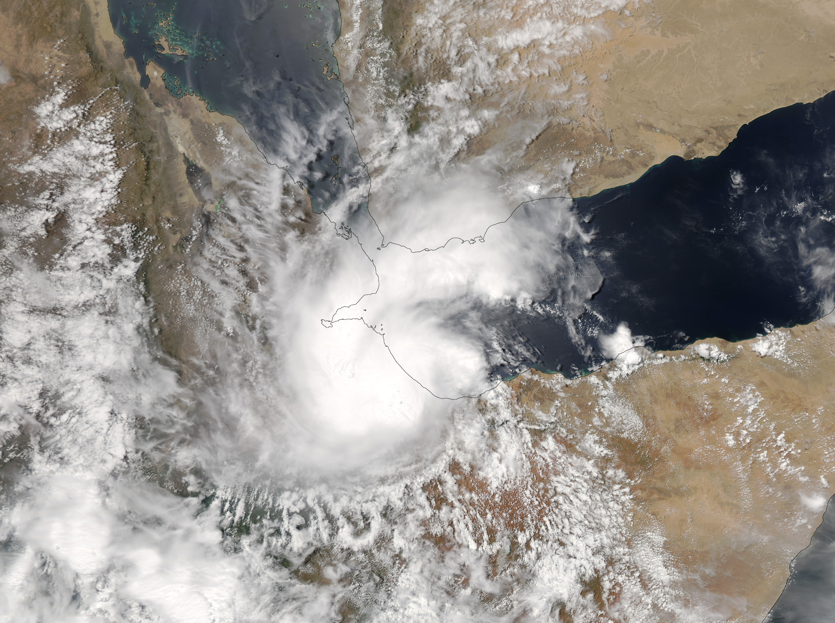 Today's Image of the Day comes from the NASA Earth Observatory and features a look at Tropical Cyclone Sagar, which made landfall in Somalia May 19th, 2018.