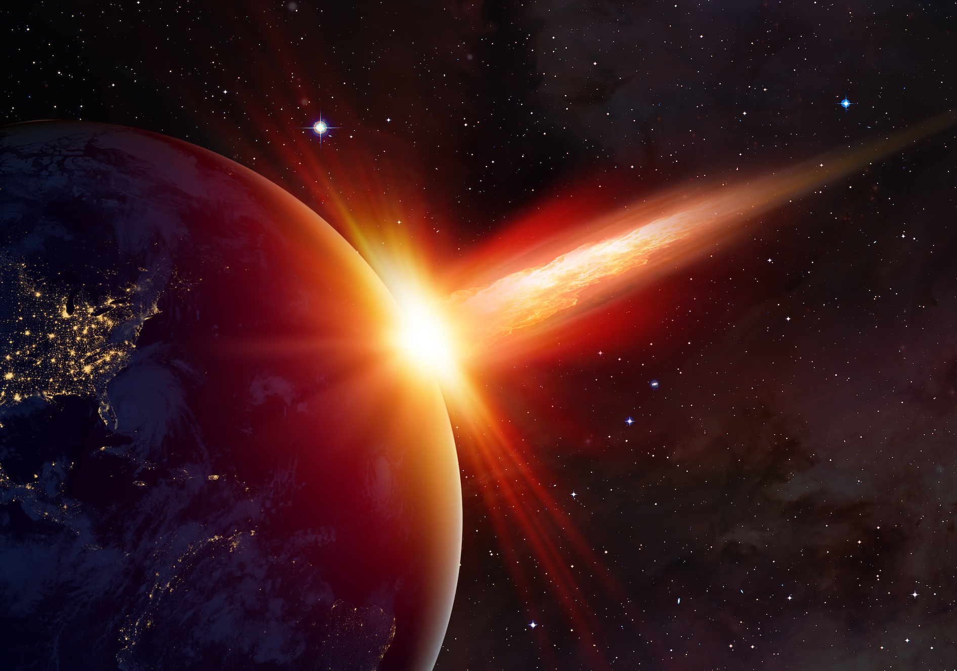 Experts have found that the Chicxulub asteroid strike 65 million years ago triggered global warming and drove temperatures up by five degrees Celsius, which persisted for around 100,000 years.