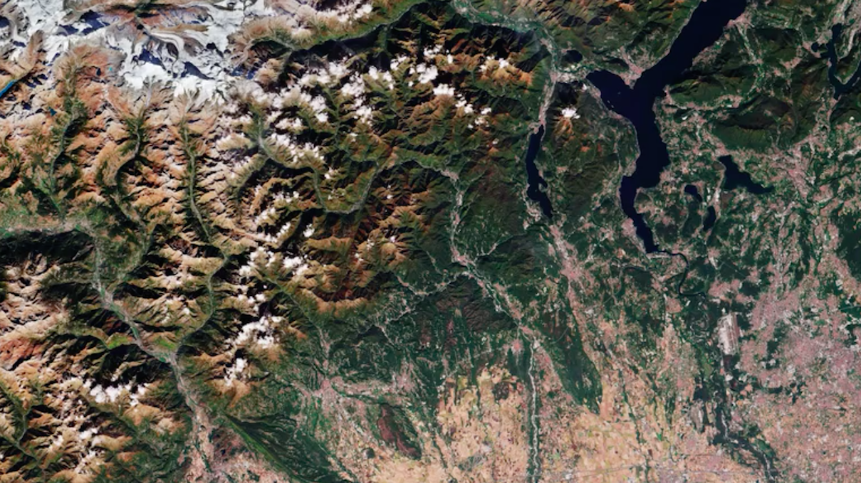 Today's Video of the Day comes from the European Space Agency's Earth from Space series and features a look at northern Italy and the Alps.