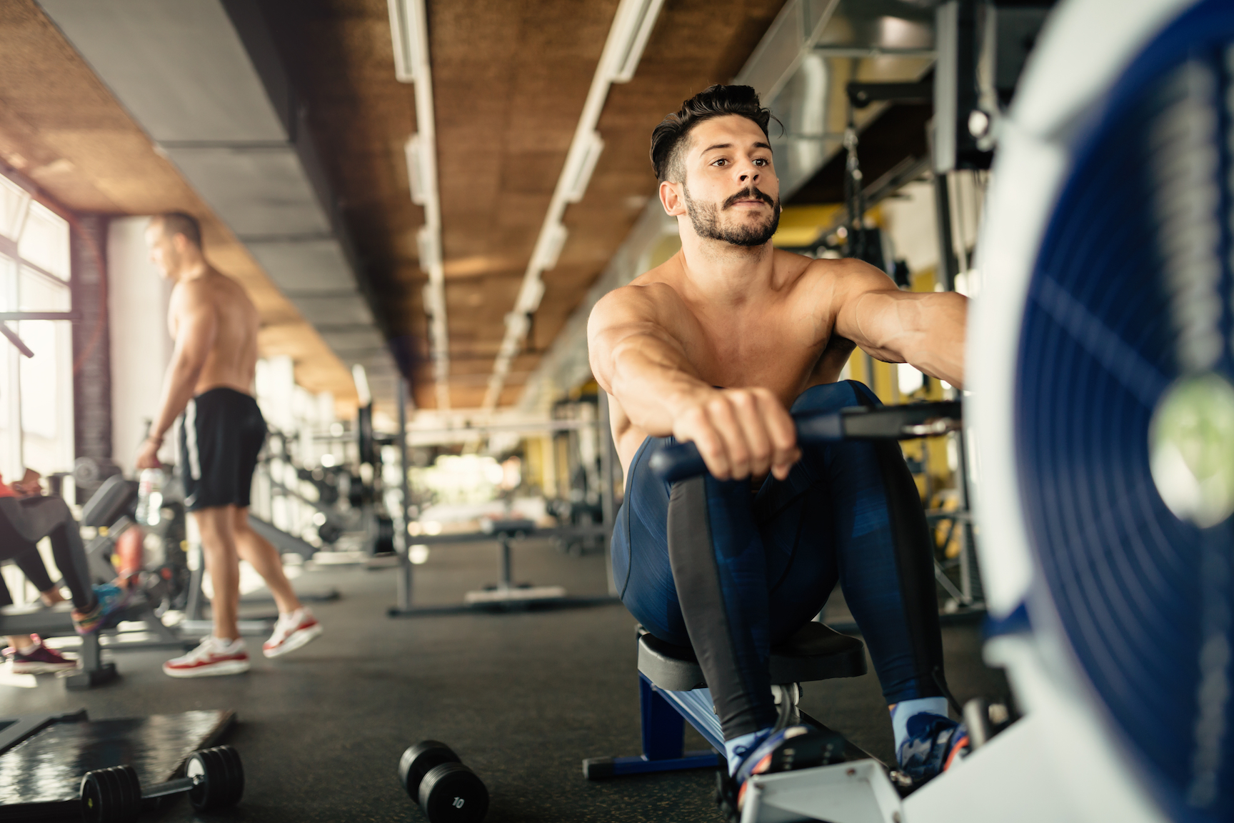 According to a new study, millennials are much more likely than any other age group of men to take an extreme approach to fitness.