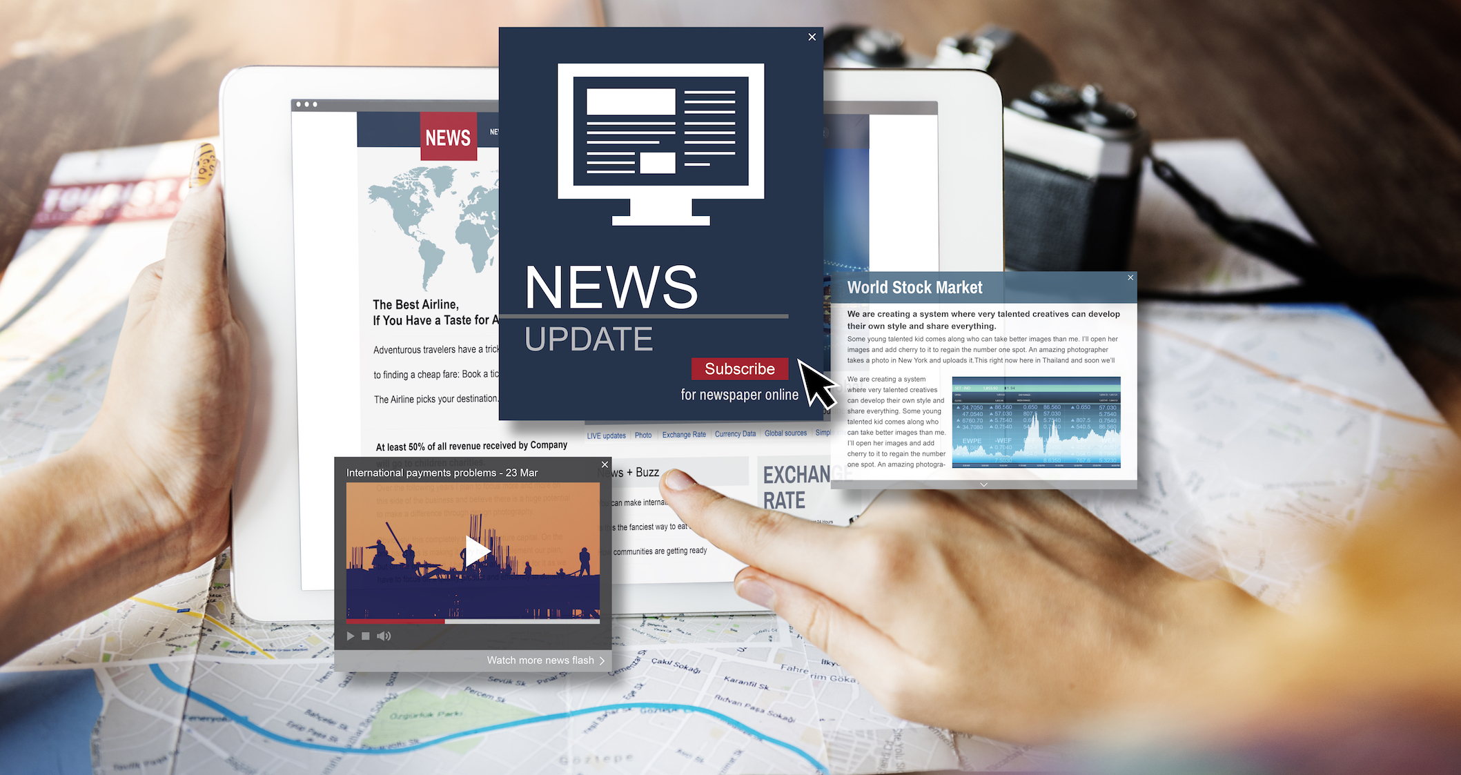 """When we're constantly """"plugged in,"""" we have access to breaking news stories 24/7, and now research shows that all the negative news coverage is negatively affecting our health."""