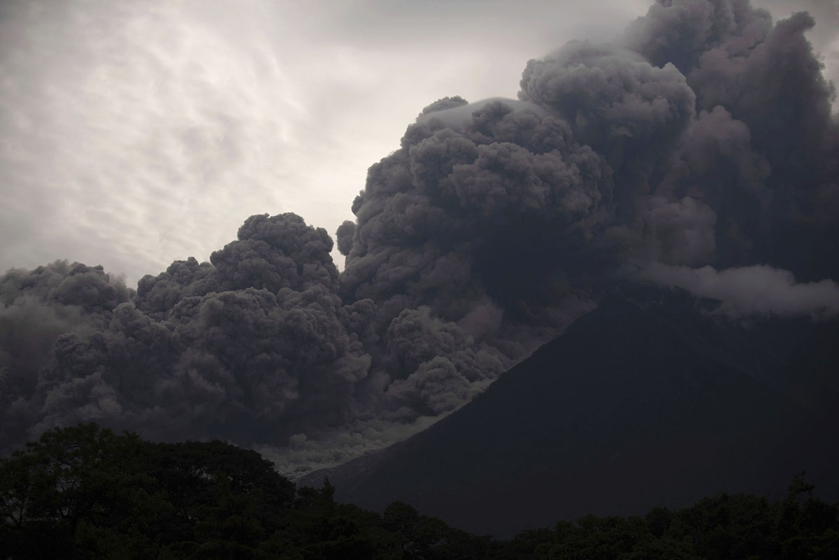 With all eyes on Hawaii's Big Island and Kilauea's ongoing eruption, it was a shock when a violent volcanic eruption was first reported in Guatemala over the weekend.