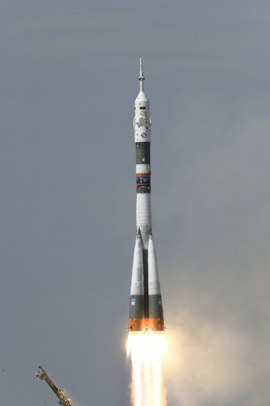 Todays' Image of the Day is from the European Space Agency (ESA) and shows the official beginning of the Horizons space mission, as the Soyuz MS-09 spacecraft successfully lifts off in Kazakhstan.