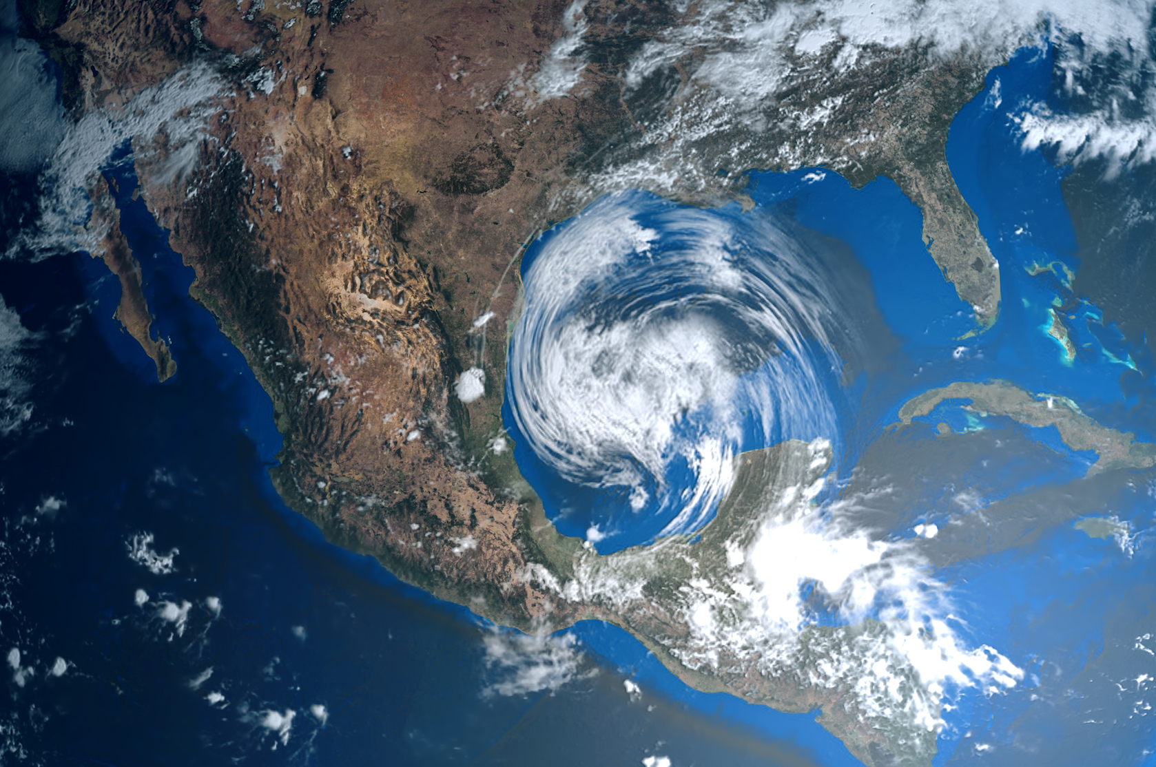 Researchers believe the stalling action shown by Hurricane Harvey may have been a result of the increase in global temperature, which is causing hurricanes to move more slowly.