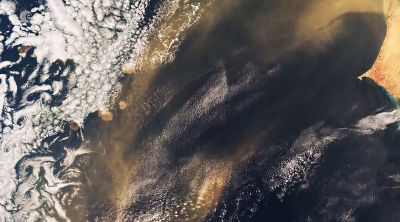 Today's Video of the Day comes from the European Space Agency's (ESA) Earth from Space series and features a look at the Republic of Cabo Verde.