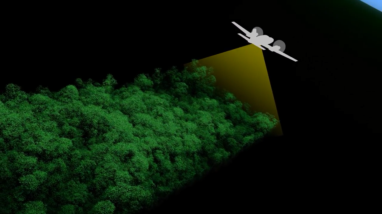 Today's Video of the Day from NASA Goddarddescribes how laser scans of the Amazon rainforest help researchers track changes that are triggered by climate change and other influences.