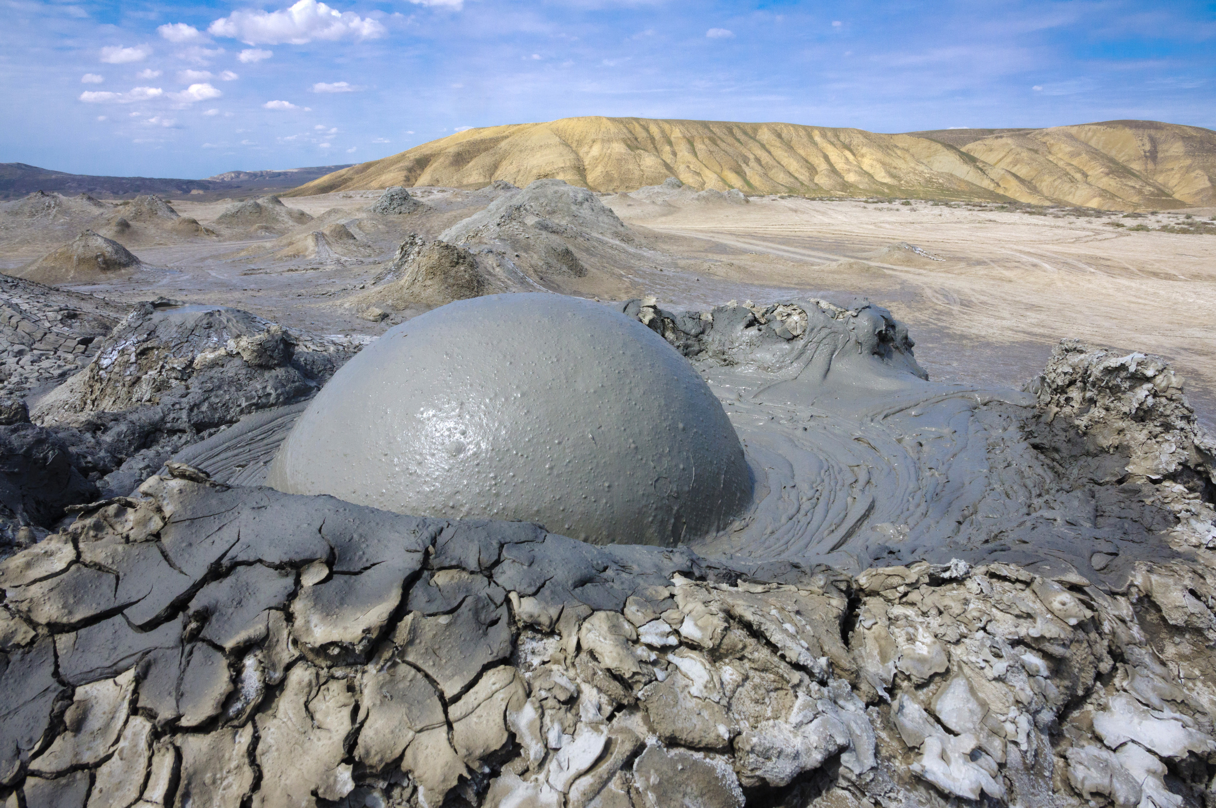 Mud volcanoes play a major role in the global methane cycle that has been largely overlooked and underestimated.