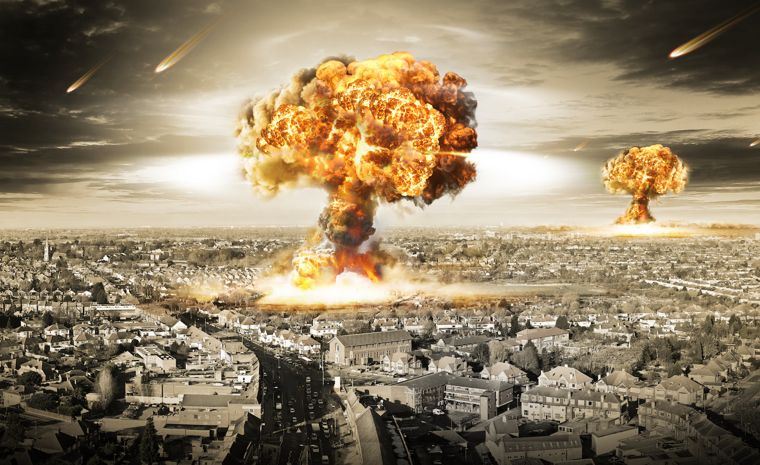 A new study has found that the use of 100 nuclear weapons would put a nation past its tipping point and kill millions.