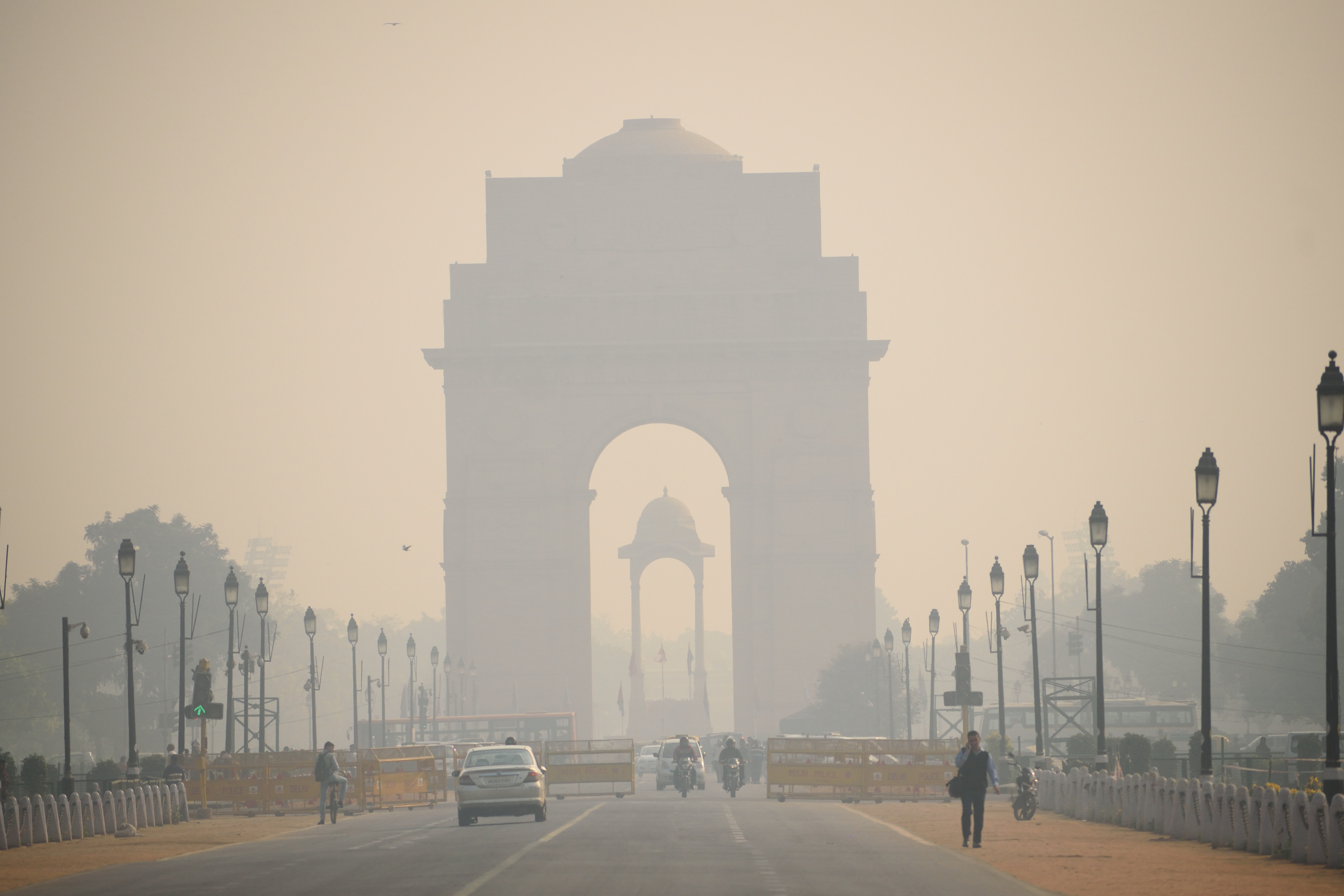 Air pollution levels were too high to be measured in Delhi this week, and the worst part of the year for air quality is still months away.