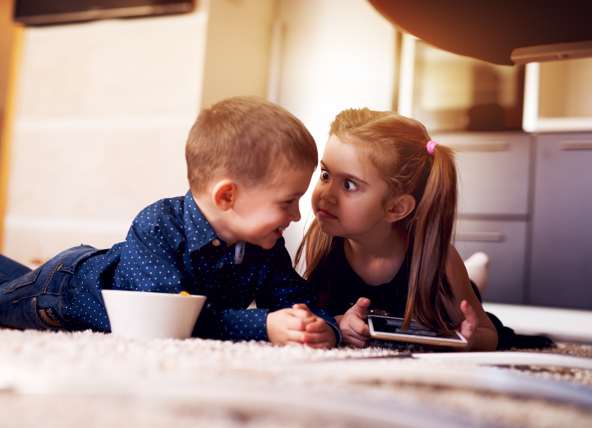 Children may be spared from the negative outcome of living with squabbling parents when they have positive relationships with siblings.