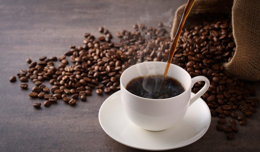 Caffeine promotes the movement of a regulatory protein into mitochondria, which protects heart cells from damage.