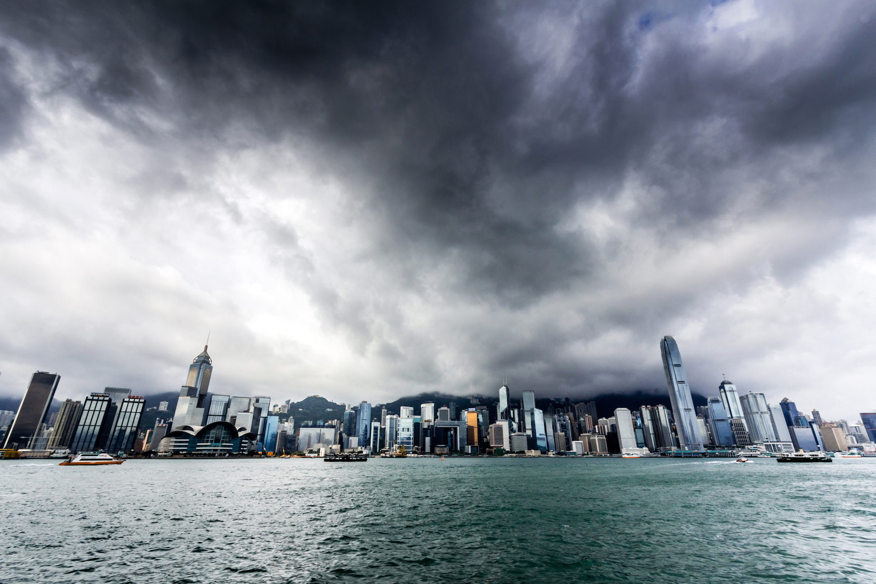 Researchers at the Chinese Academy of Sciences are describing how tropical cyclones have a major impact on the air quality in Hong Kong.