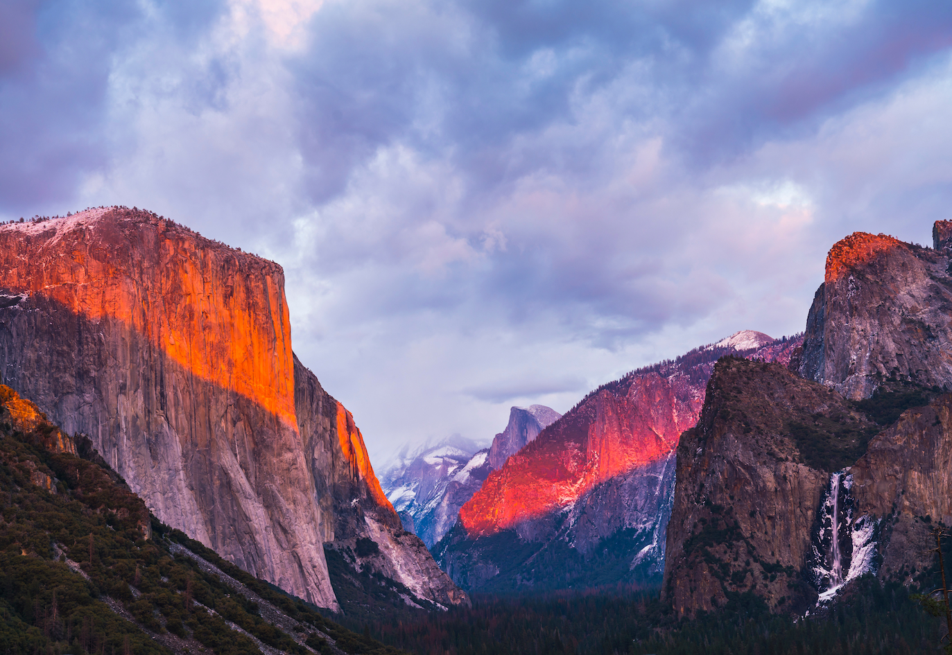 Granite from Yosemite National Park contains minerals that crystallized at significantly lower temperatures than ever thought possible.