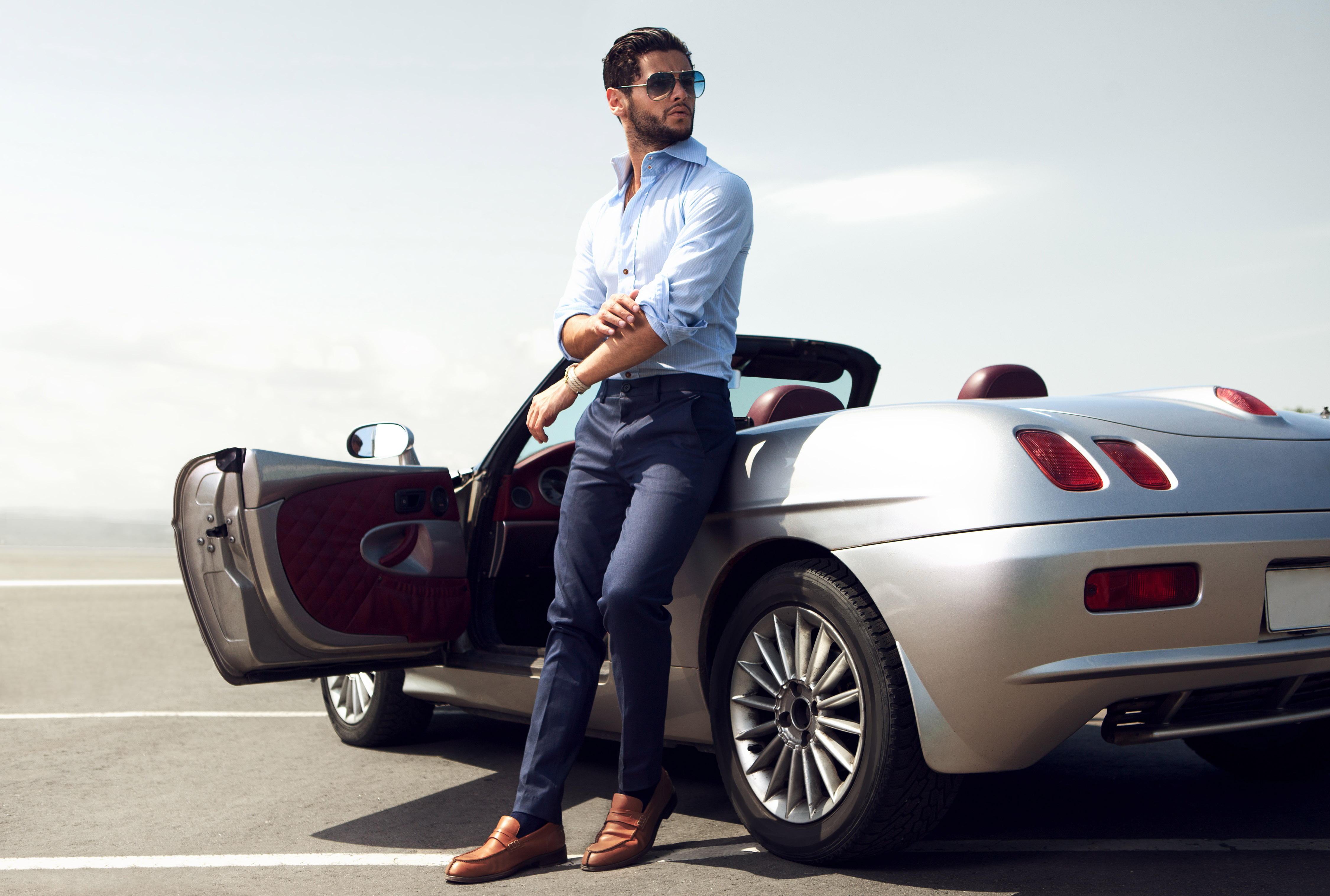 pictures For Men, Testosterone May Drive Luxury Purchases