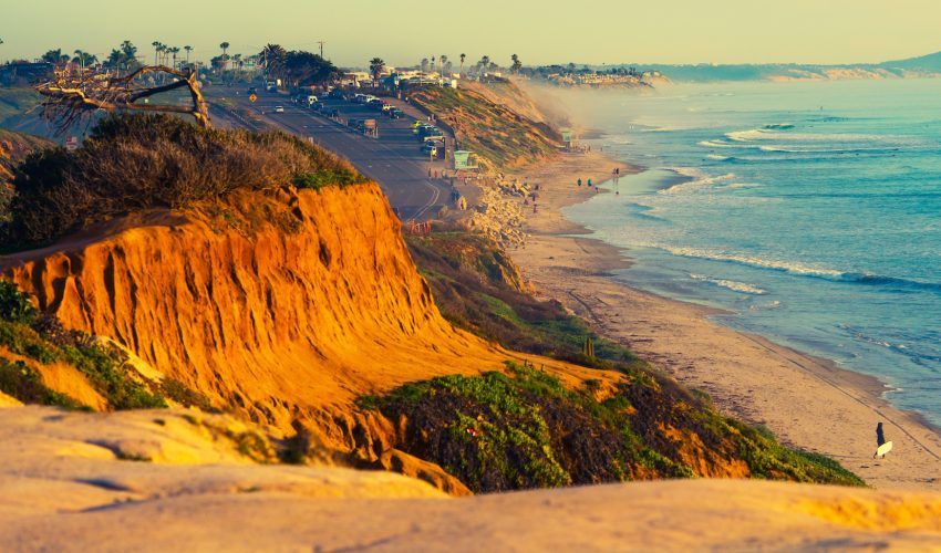 New research has found that rising sea levels will cause cliffs along Southern California's coast to experience serious erosion.