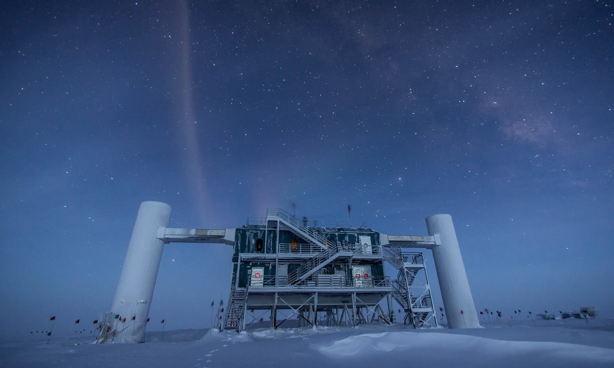 The analysis of a a ghost particle that blasted into Antarctic ice last year has just opened up a new approach to space exploration.