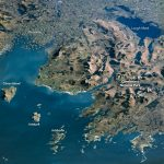 Today's Image of the Day from NASA Earth Observatory features an unobstructed view of Ireland's West Region.