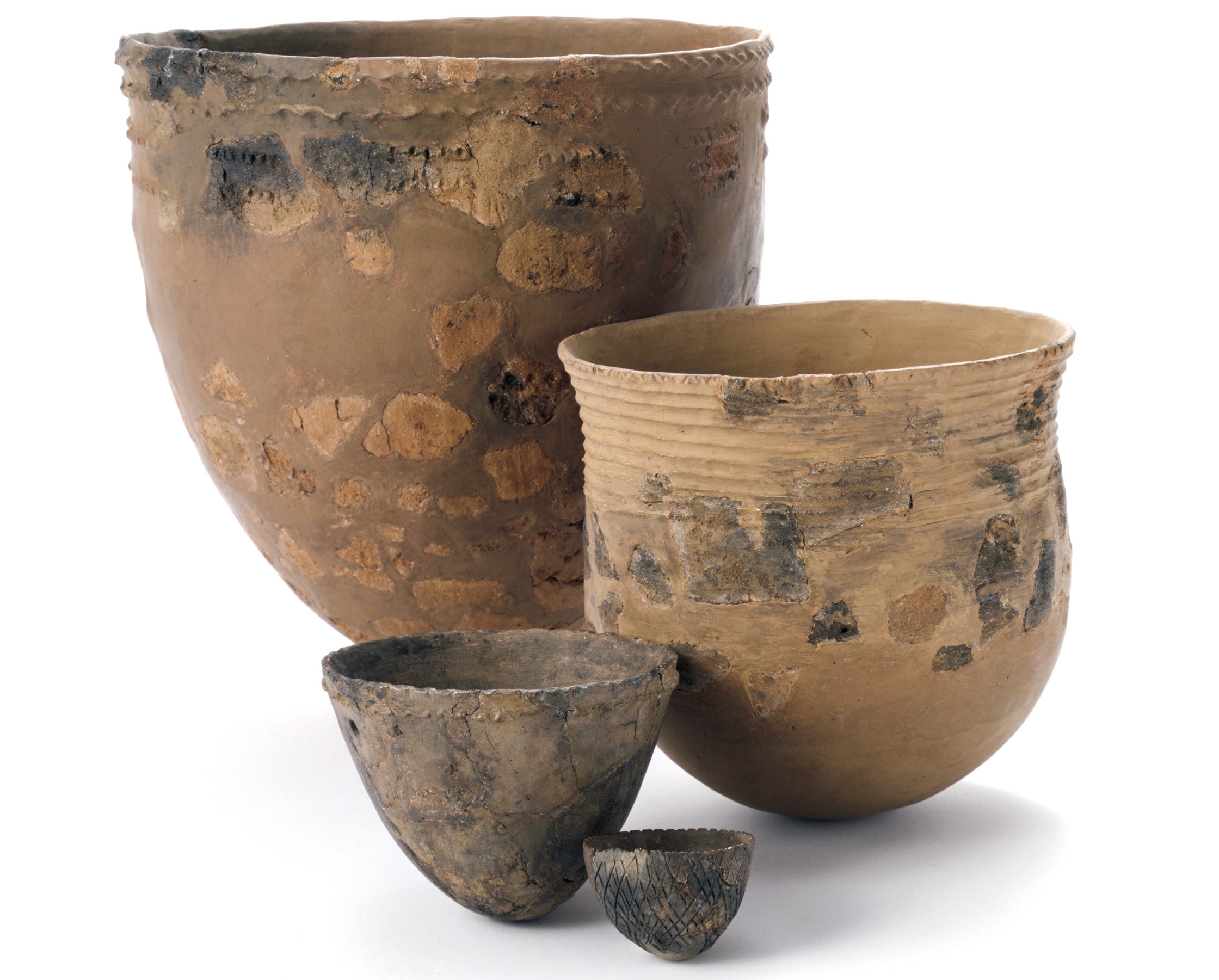 The art of pottery increased as fishing became a central part of daily life towards the end of the last Ice Age.