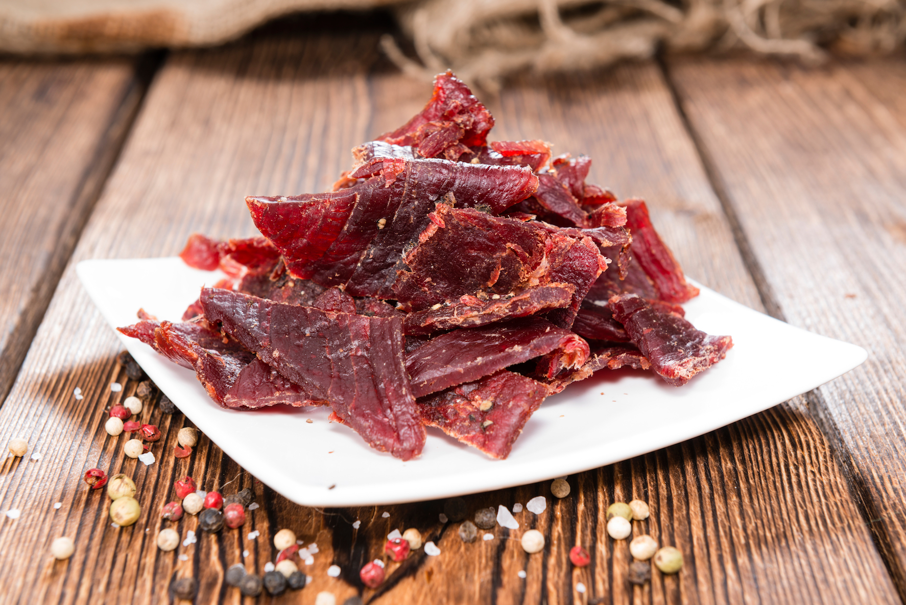 Nitrates used to cure processed meats like beef jerky may cause mania even in people without psychological disorders.