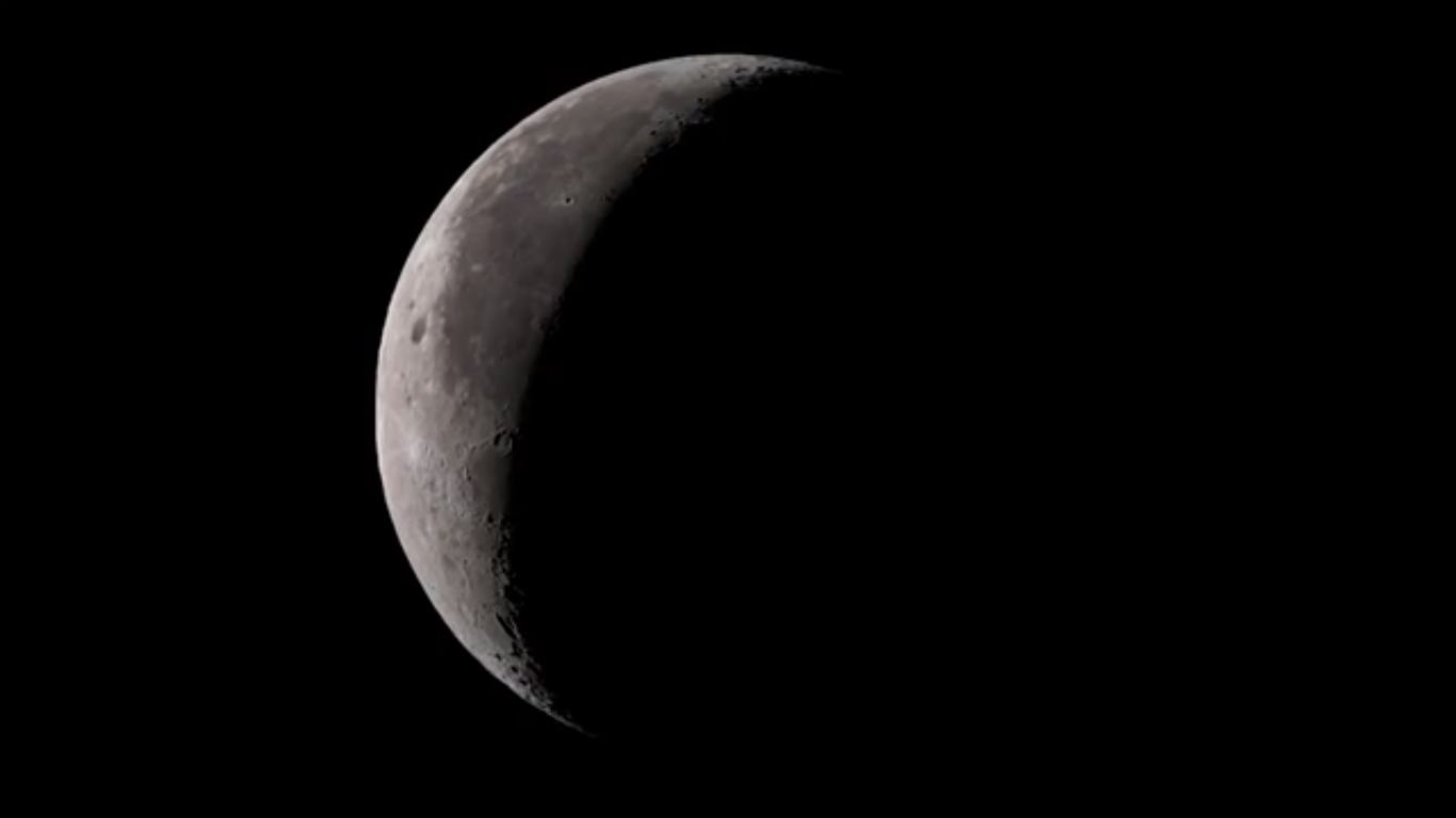 Today's Video of the Day from NASA Goddard features mesmorizing images of the Moon inspired by the mood of Claude Debussy's best-known piece, Clair de Lune, which means moonlight in French.