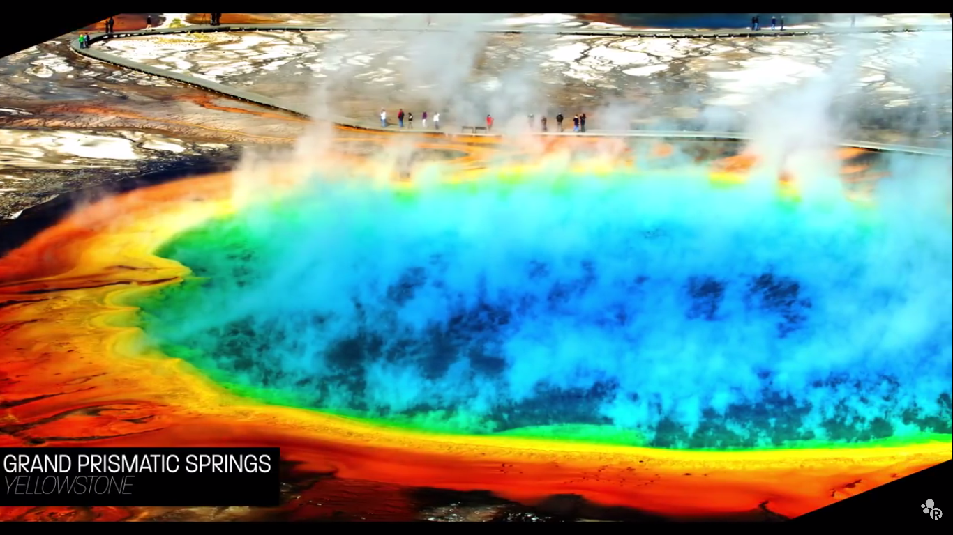 Today's Video of the Day from the American Chemical Society (ACS) explains why some of the water found in the hot springs of Yellowstone National Park can actually be deadly..