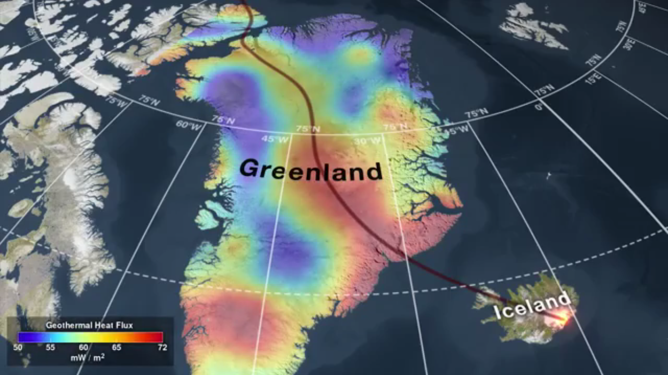 Today's Video of the Day from NASA Goddard provides insight into the geological history of Greenland.