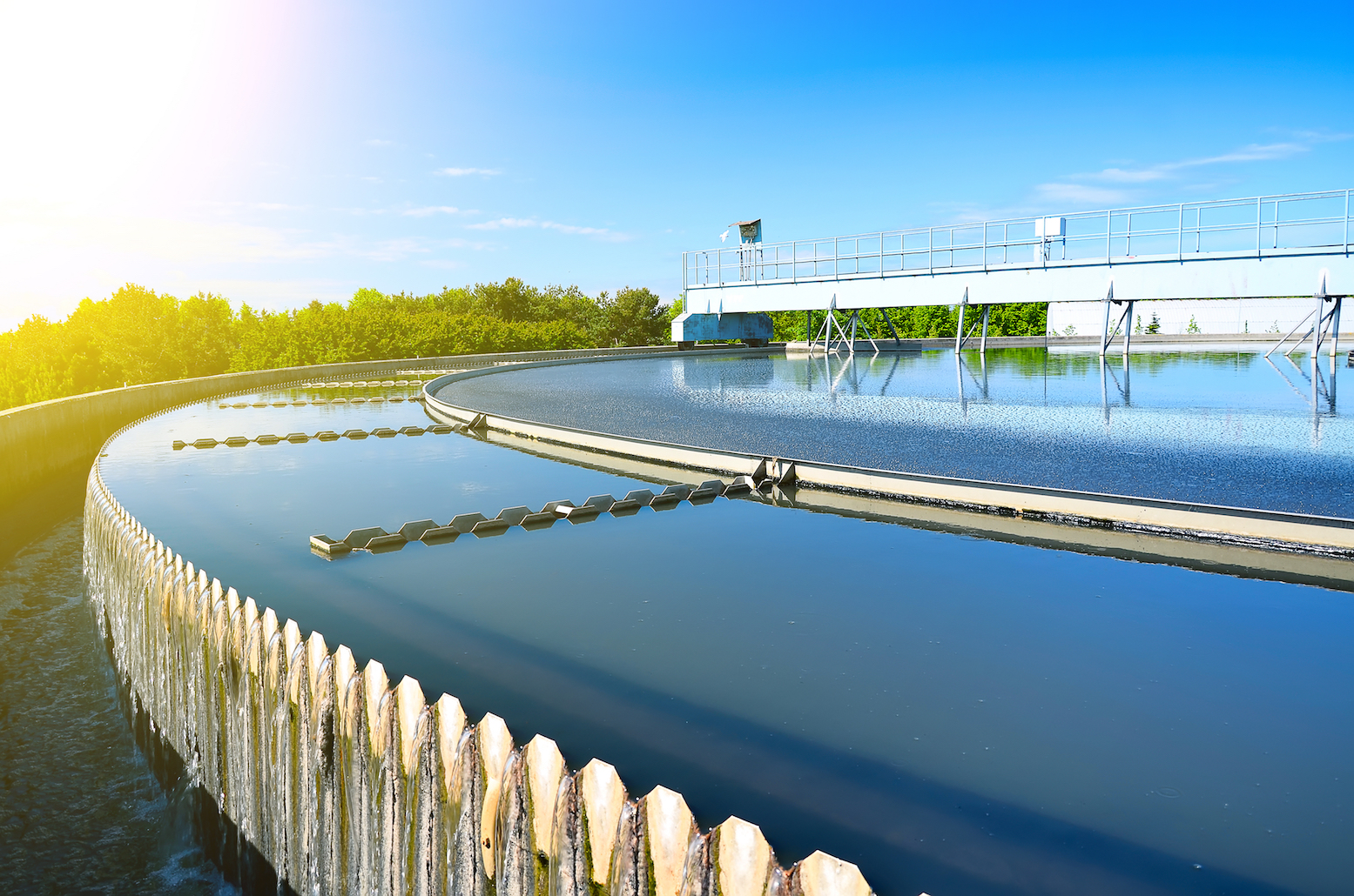 """Scientists have found a new way to incorporate ecological processes to allow """"green"""" water treatment facilities – and save money."""