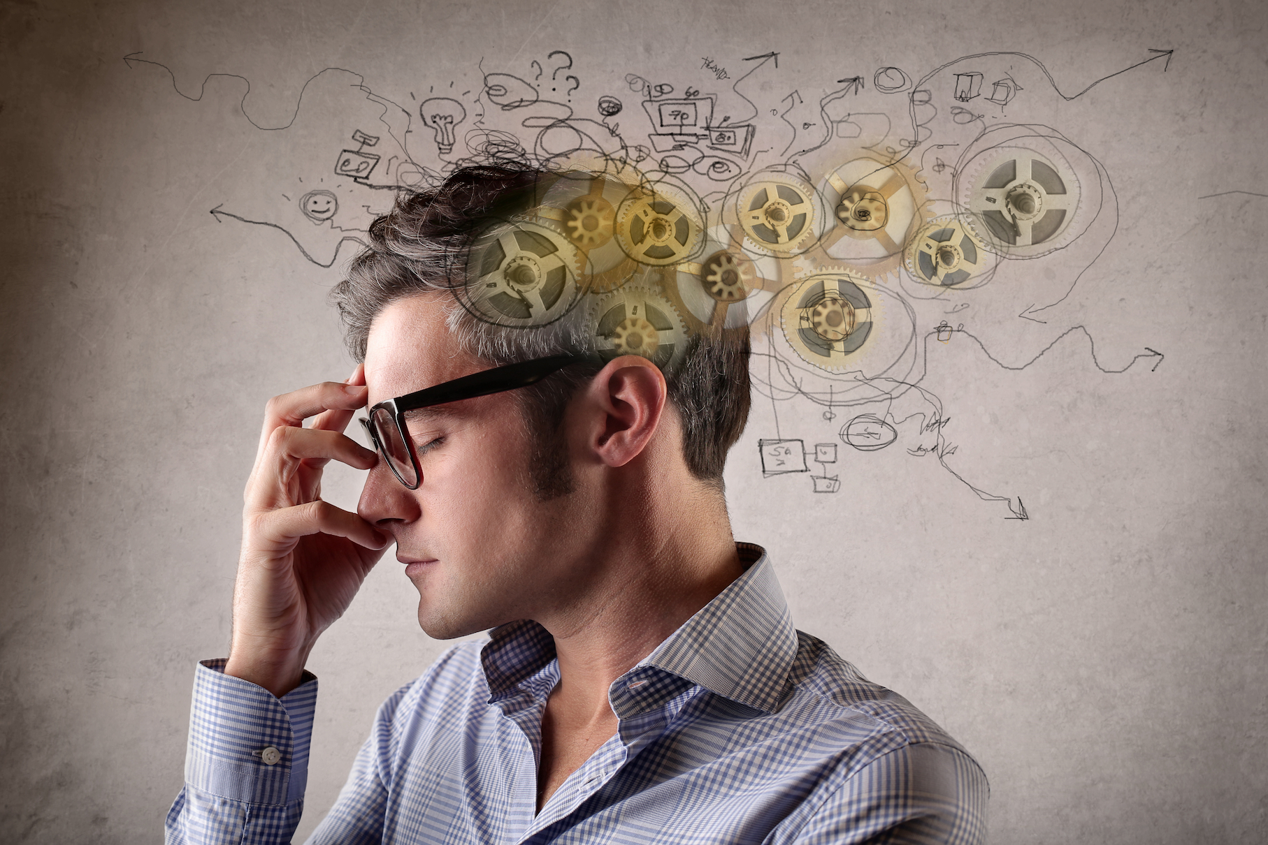 A new study describes what happens in the brain that allows people to feel overly and unrealistically optimistic.