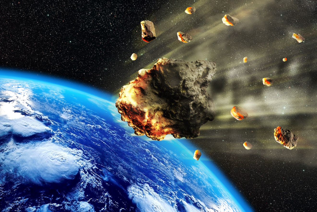 New research suggests that the oldest rocks on Earth were most likely formed by heavy meteorite bombardment.
