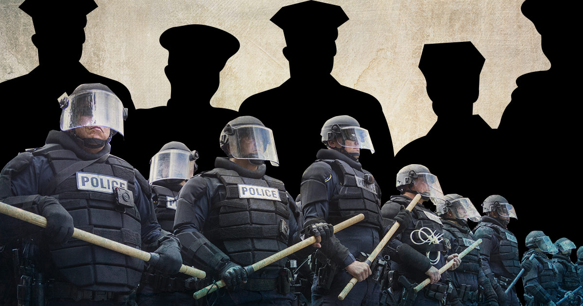 A new study has revealed that militarized policing is not an effective way to reduce crime and protect police.