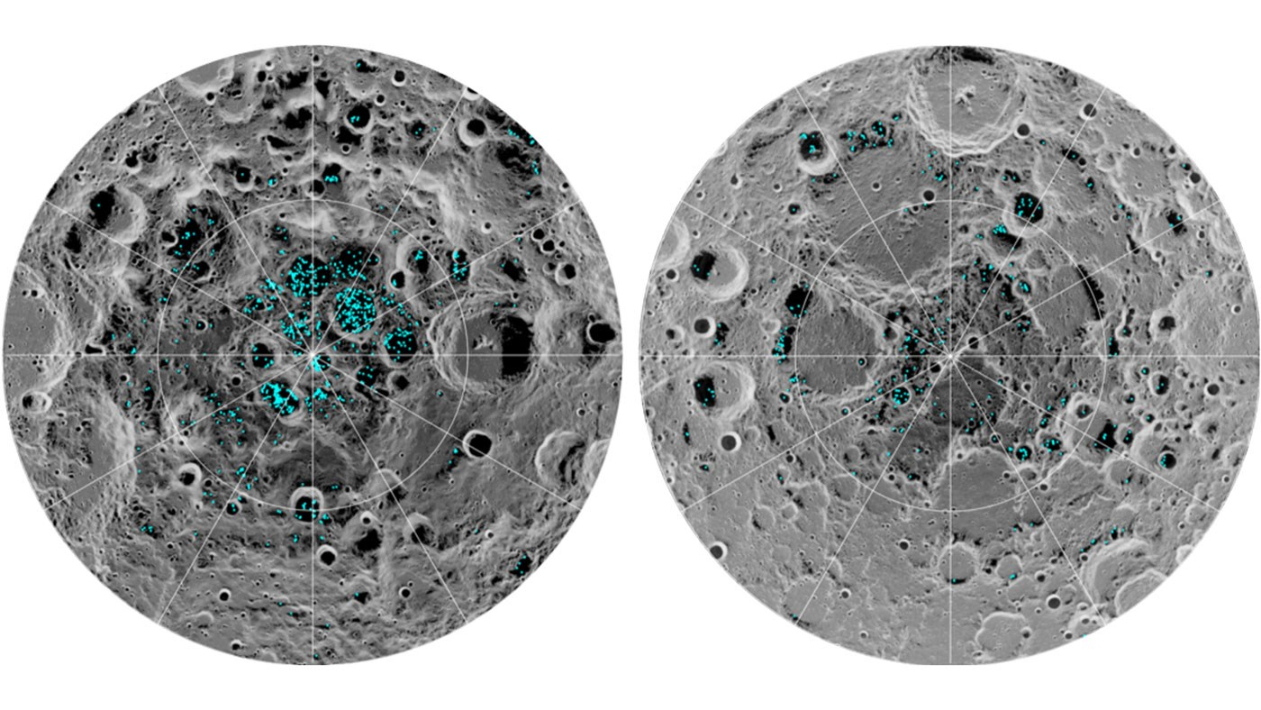 Using high tech satellite scans and imaging techniques, researchers have found the first evidence of water on the surface of the moon.