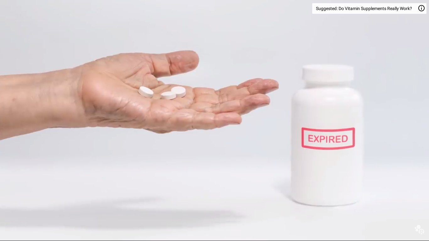 Today's Video of the Day from the American Chemical Society series Reactions discusses prescription drugs and whether they are safe to take after the expiration date.