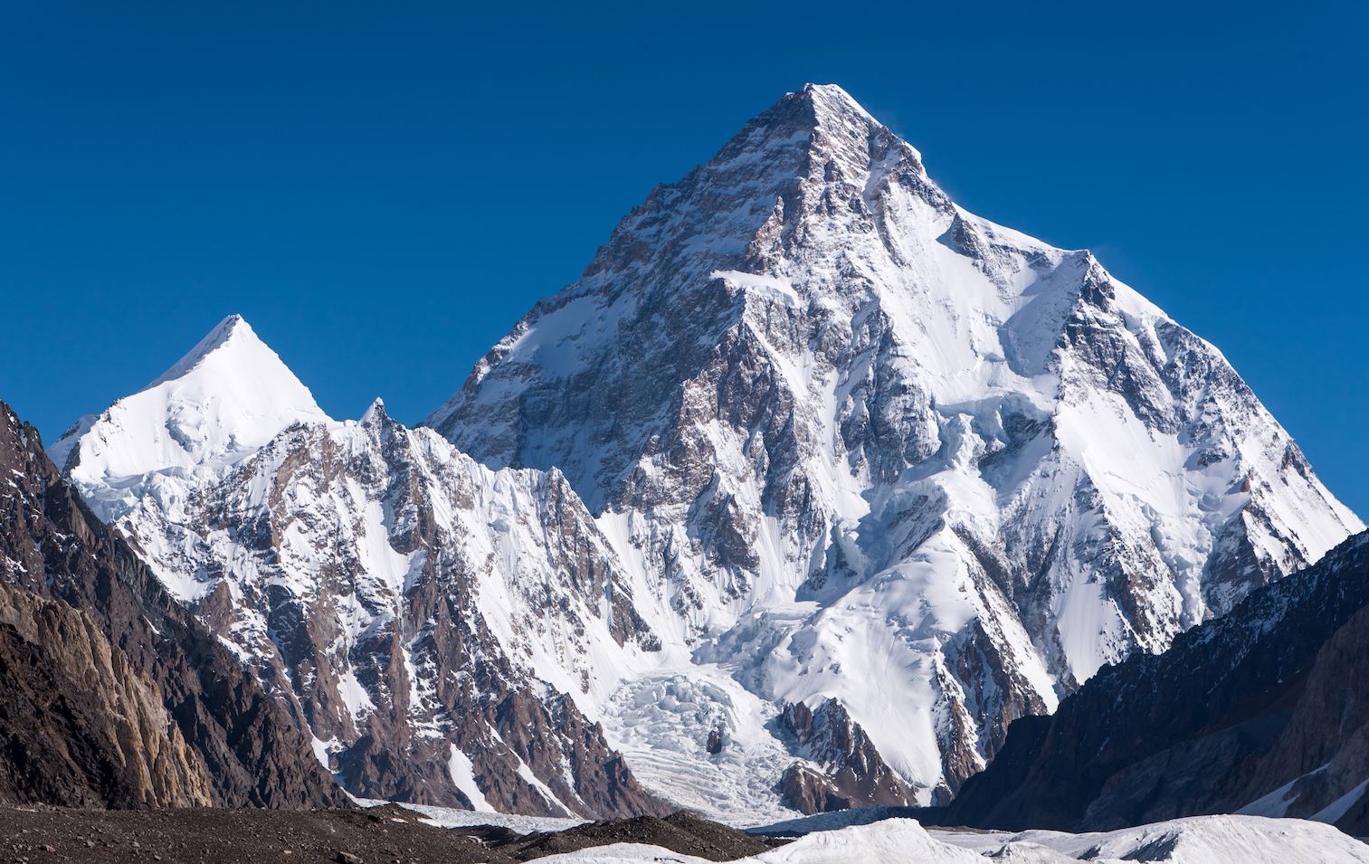 On July 22, 2018, K2, the world's second highest mountain, was descended for the first time ever on skis by Polish climber Andrzej Bargiel.