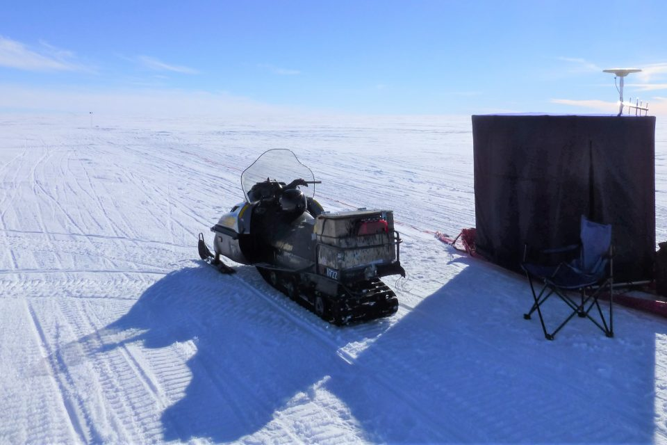 Experts are gaining new insight after discovering a 5,700-year-record of the glacier's behavior produced by a volcano under the ice sheet.