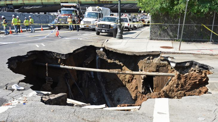Scientists from Keele University are describing how experts can detect sinkholes before they become visible and dangerous.