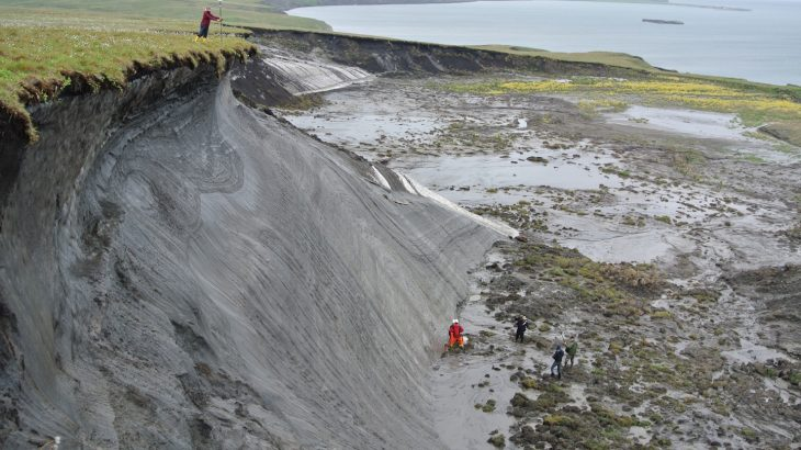 A new study from the Alfred Wegener Institute has found that thawing permafrost in the Arctic could intensify global warming.