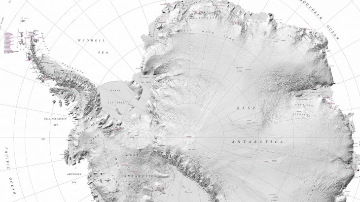 Experts have created a map of Antarctica that has more detail than any other map of its kind and will revolutionize how the area is studied.