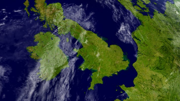 According to a new study from the University of Plymouth, mainland Britain was created by the collision of three ancient land masses.