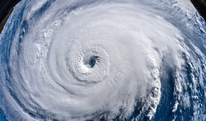 Hurricane Florence began to make landfall along the coast of North Carolina and is now making slow and steady progress inland.