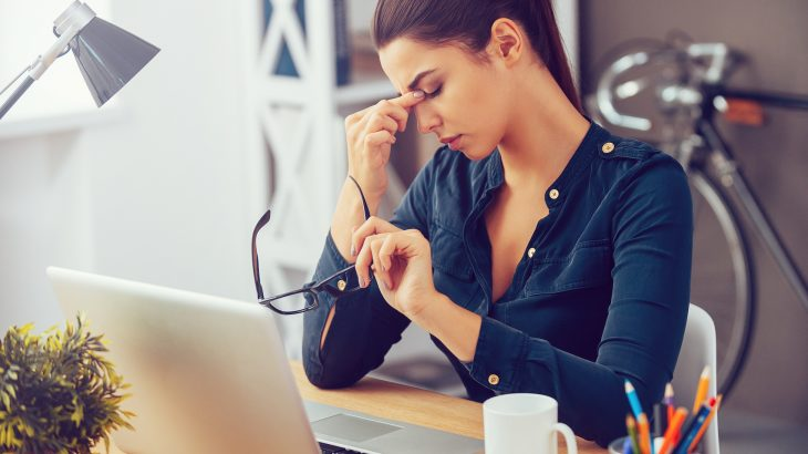 A new study found that women who were under the most stress at home and at work were 25 percent less likely to conceive.