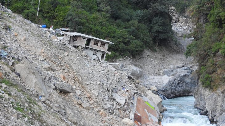 Major flood events cause more erosion and are a much greater hazard in mountainous regions than seasonal monsoon rainfalls.