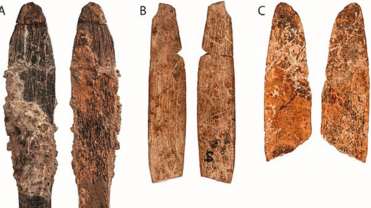Researchers have discovered a 90,000-year-old knife in a Moroccan cave that was fashioned out of an animal bone.