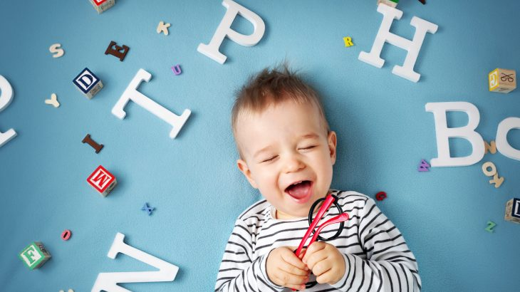 An infant's speech, commonly known as babble babble, could actually be used to indicate future reading comprehension.